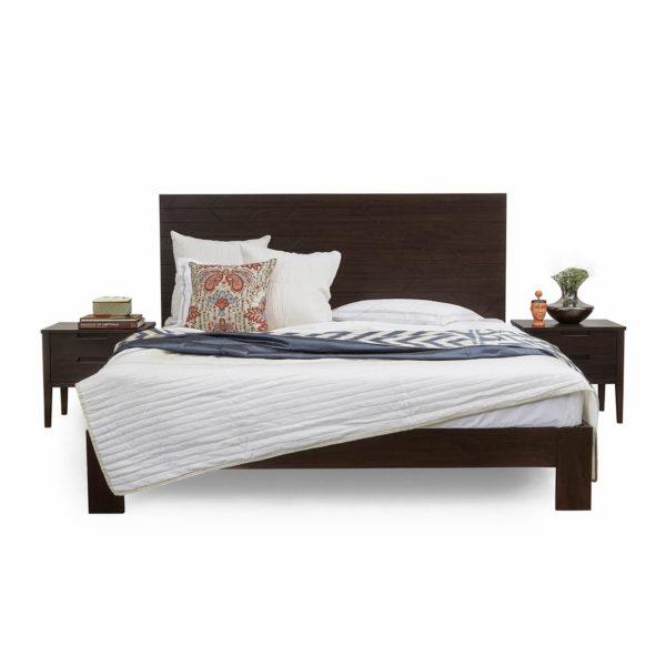 Arrow Modern King Bed