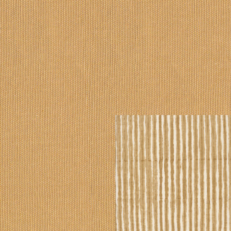 Plain Sand seat with Batik Stripe Sand cushion