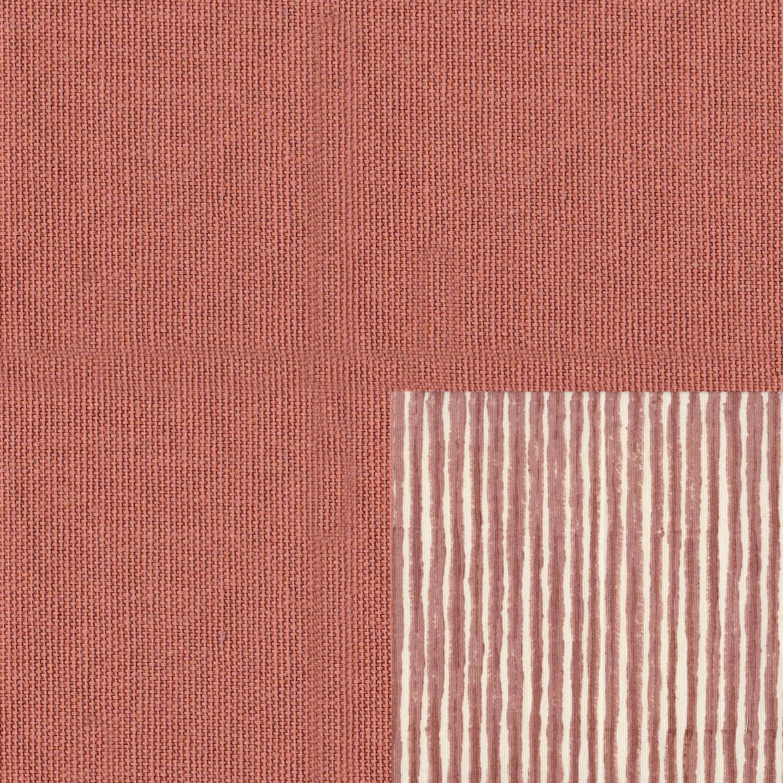 Plain Sandstone seat with Batik Stripe Sandstone cushion
